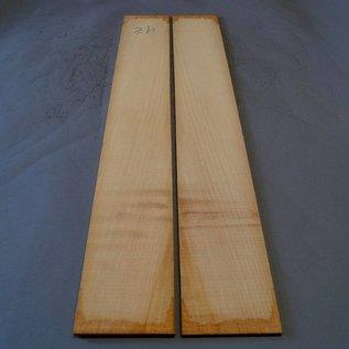 Cypress Sides, approx. 800 x 110 x 3 mm, mirror cut