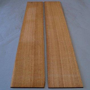 Sapeli Mahagony Sides, approx. 825 x 140 x 4 mm, mirror cut, 2011