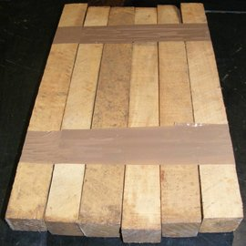 Castello Boxwood, B-Quality, approx. 45 x 45 x 400 mm, Set