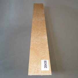 Birds eye maple, fingerboard, 520 x 60 x 10 mm, 0,3 kg