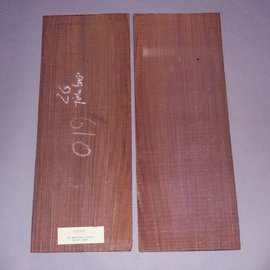 Eastindian rosewood, western bottoms, approx. 600 x 220 x 5 mm