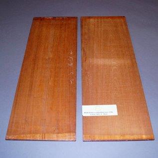 Swietenia Mahagony bottoms, approx. 550 x 190 x 5 mm, 0,8 kg