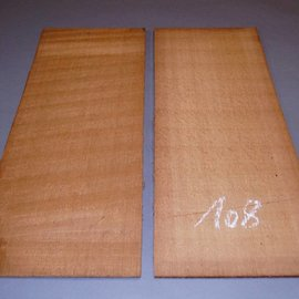 Red Cedar tops, approx. 590 x 230 x 5 mm