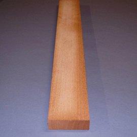 Swietenia Mahagony neck, rift, approx. 90 x 30 x 770 mm