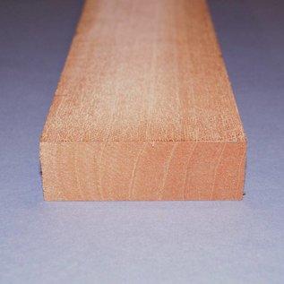 Swietenia Mahagoni Hals, Rift ca. 90 x 30 x 770 mm, 1,1 kg