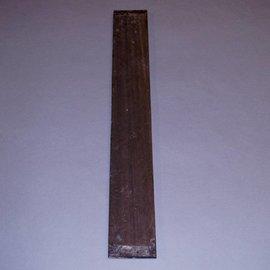 Ebony fingerboard, stripy, approx. 10 x 68 x 500 mm