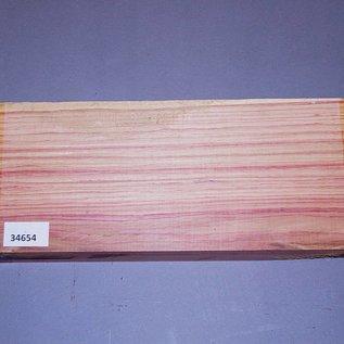 Brazilian Tulipwood, 310 x 138 x 39 mm, 1,7 kg, air dried, cut 2015