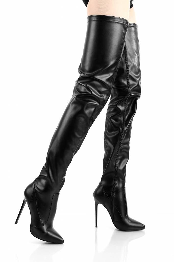 "Giaro Black Giaro ""Elegance"" thigh high boots"