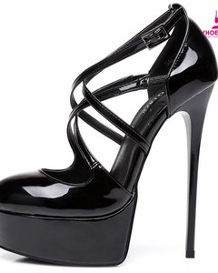 "Giaro Black Giaro ""Galana"" strappy pumps"