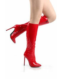 Giaro ELEGANCE 1003 | RED SHINY | KNEE BOOTS