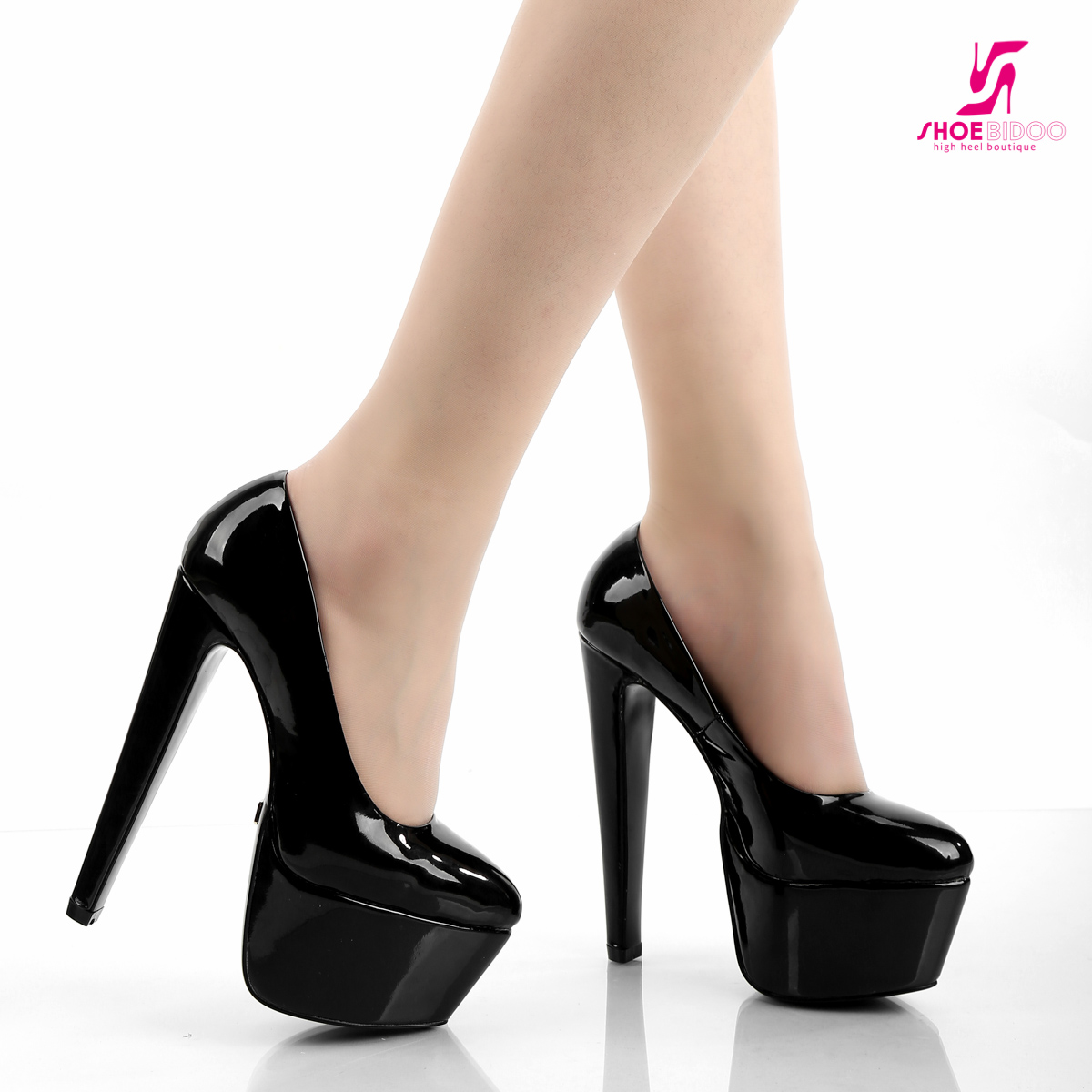 f5f434877cc DESTROYER models (chunky platform heels). These pumps and boots ...