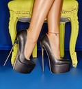 Giaro Extreme fetish pumps and boots with metal heels