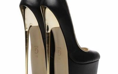 Extreme metal high heels