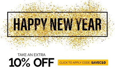 NEW YEAR SALE - 10% OFF ALL