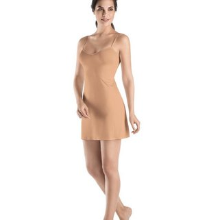 Hanro Onderjurkje Satin de Luxe 071065 nude