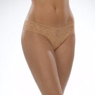 Hanky Panky Low Rise Thong 4911P SUN TAN