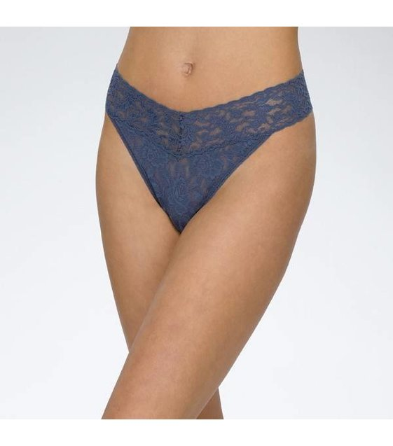 Hanky Panky Thong 4811P NIGHTSHADOW BLUE