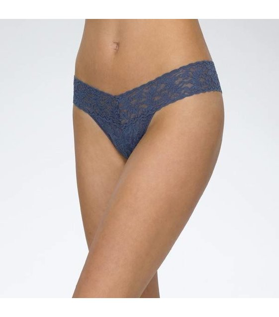 Hanky Panky Low Rise Thong 4911P NIGHTSHADOW BLUE
