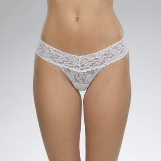 Hanky Panky Low Rise Thong 4911P WHITE