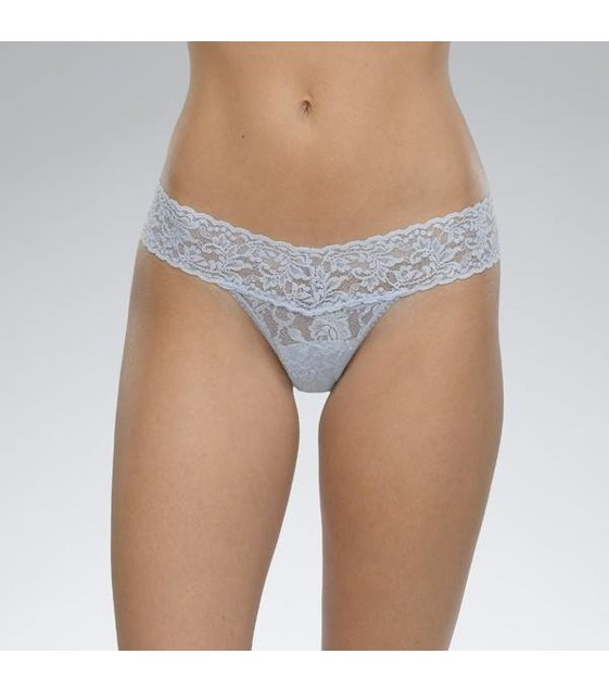 Hanky Panky Low Rise Thong 4911P PERIWINKLE