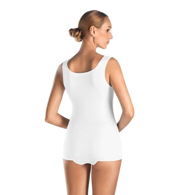 Hanro Tank Top Cotton Seamless 071604 white