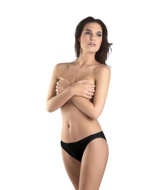 Hanro Slip Cotton Seamless 071624 black
