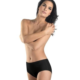 Hanro Taille Slip Cotton Seamless 071625 black
