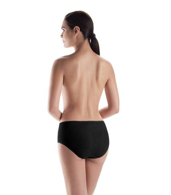 Hanro Taille Slip Cotton Seamless 071625 black