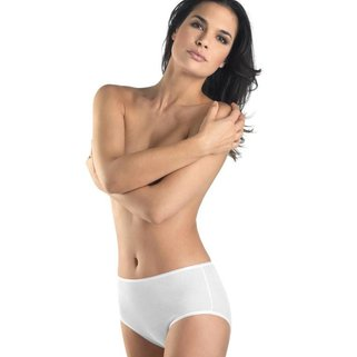 Hanro Taille Slip Cotton Seamless 071625 white
