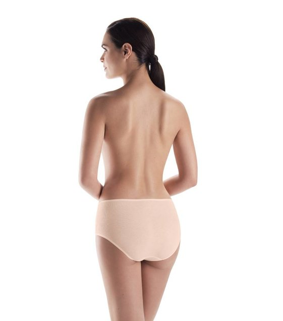 Hanro Taille Slip Cotton Seamless 071625 skin