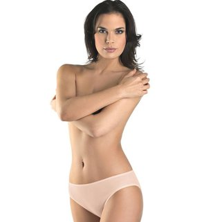 Hanro Rio Slip Cotton Seamless 071626 skin