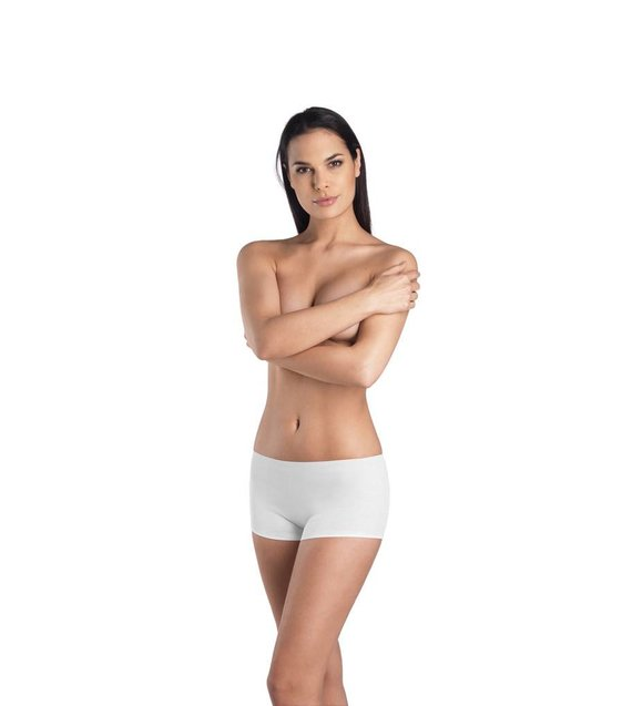 Hanro Shortleg Cotton Seamless 071631 white