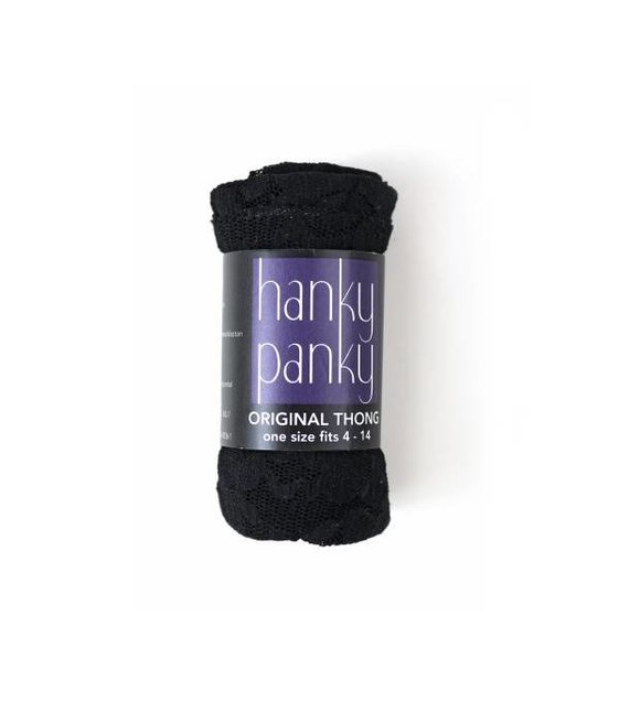 Hanky Panky Thong 4811P BLACK