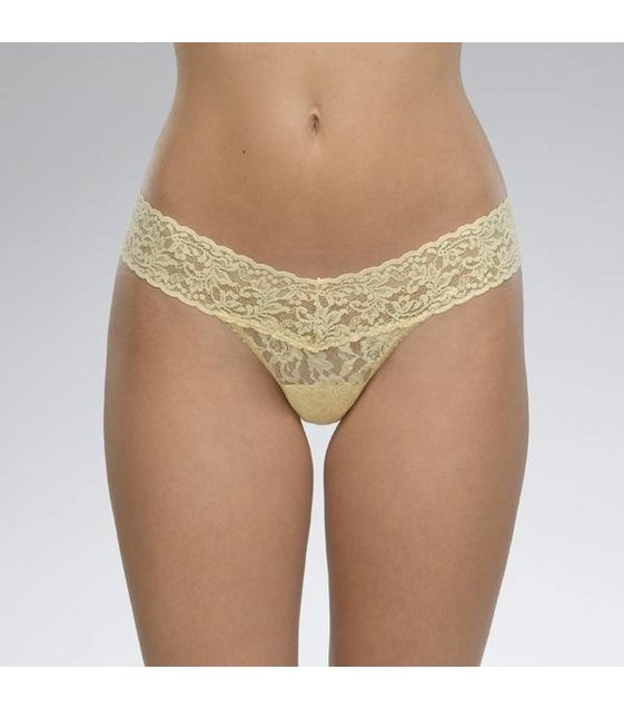 Hanky Panky Low Rise Thong 4911P BUTTERCUP