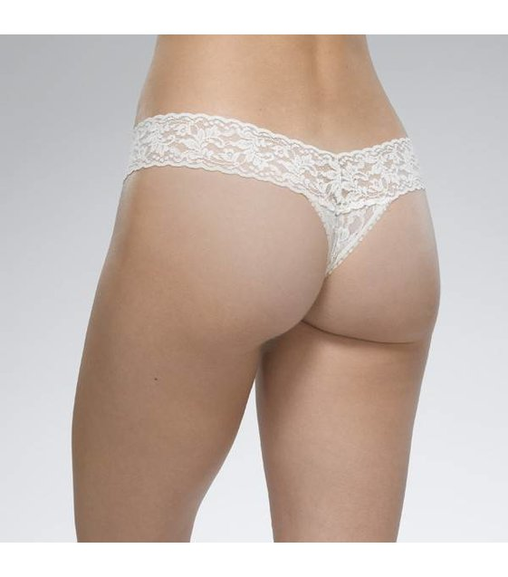 Hanky Panky Low Rise Thong 4911P IVORY