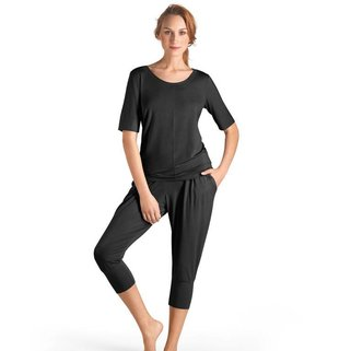 Hanro Shirt Yoga 077994 black
