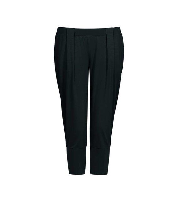 Hanro Capri Broek Yoga 077999 Black