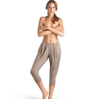 Hanro Capri Broek Yoga 077999 taupe grey