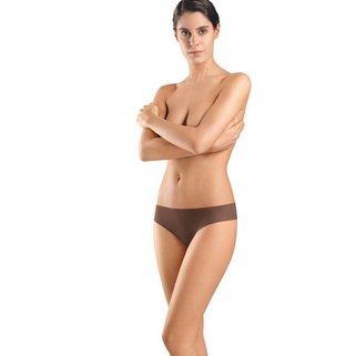 Hanro Slip Invisible Cotton 071226 mocha