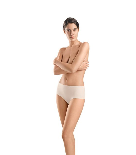 Hanro Taille Slip Invisible Cotton 071228 powder