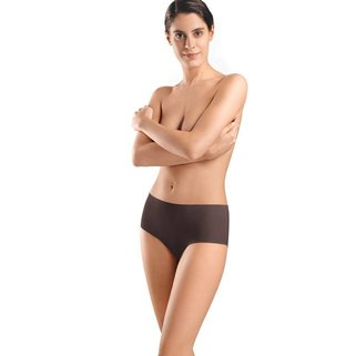Hanro Taille Slip Invisible Cotton 071228 mahogany