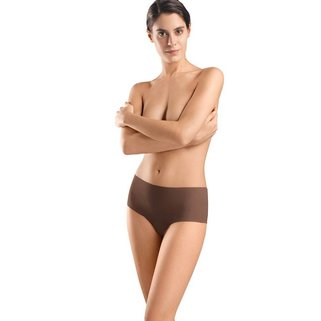 Hanro Taille Slip Invisible Cotton 071228 mocha