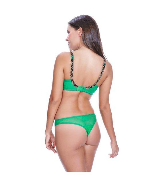 Freya Lingerie Voorgevormde Plunge BH Deco Vibe AA1704 Green
