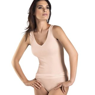 Hanro Tank Top Cotton Seamless 071602 skin