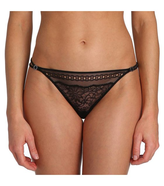 Marie Jo String Slip Jewell 0602070 Zwart