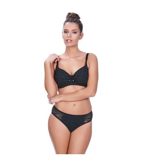 Freya Sweetheart Bikini Top Sundance AS3970 Black