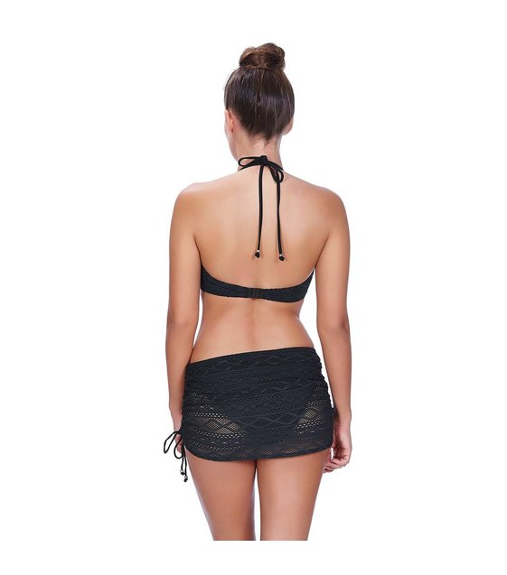 Freya Skirt Bikini Slip Sundance AS3977 Black