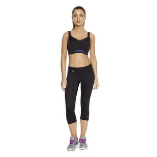 Freya Sport Crop Top Epic AA4004 Electric Black