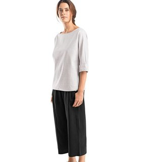 Hanro Shirt Emma 078406 Neve Melange