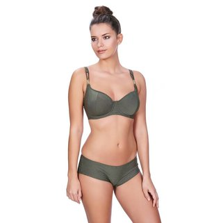 Freya Halter Sweetheart Bikini Top Glam Rock AS3839 Olive
